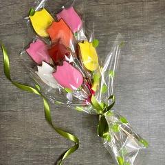 Букет из пряничных тюльпанов