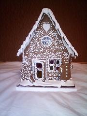 """Имбирный пряничный домик """"Зимний"""""""